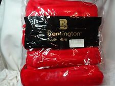 New Bennington plush golf head covers in scarlet red 4 pack