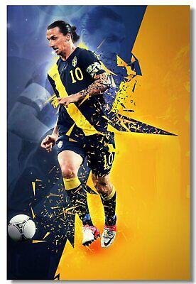 Poster Gabriel Batistuta Football Soccer Star Room Art Wall Cloth Print  501