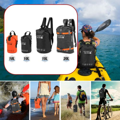 10L 15L 20L Outdoor Floating Roll-top Backpack Drifting Sports Dry Bag