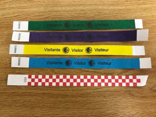 Official 24th World Scout Jamboree Day Visitor Wristband Set WSJ