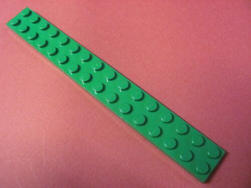 LEGO 4282 @@ Plate 2 x 16 (x1) @@ Plaque @@ GREEN @@ VERT