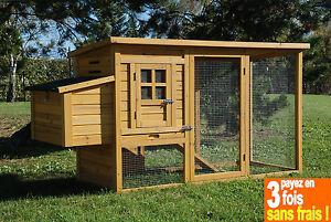 poulailler cottage en bois 2 poules tradi ou 3 poules. Black Bedroom Furniture Sets. Home Design Ideas
