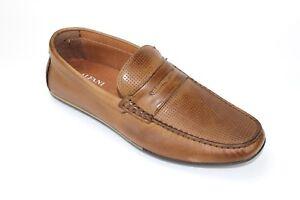 e1625a0131bcf Alfani Men s Will Penny Loafers Drivers Tan Leather Size 8 M   eBay