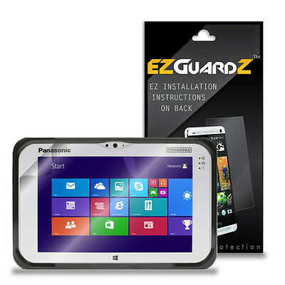 2X EZguardz LCD Screen Protector Skin Shield HD 2X For Panasonic Toughpad FZ-B2