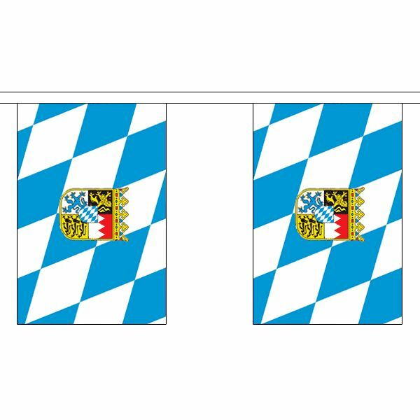 3m 6m 9m Metre Length 10 20 30 Flags Lancashire Flag Bunting Polyester