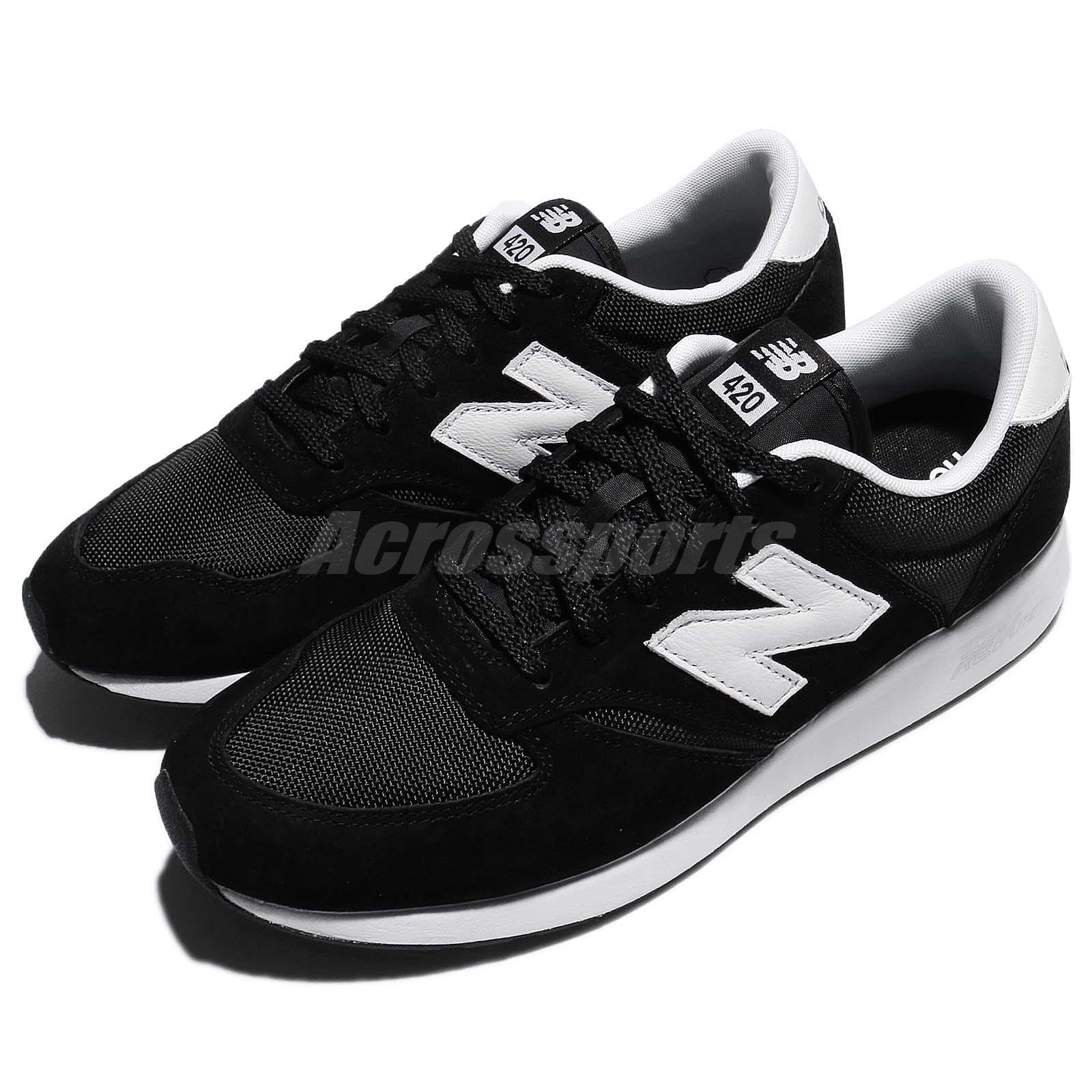 New Balance MRL420SZ D noir blanc homme fonctionnement chaussures NB 420 RevLite MRL420SZD