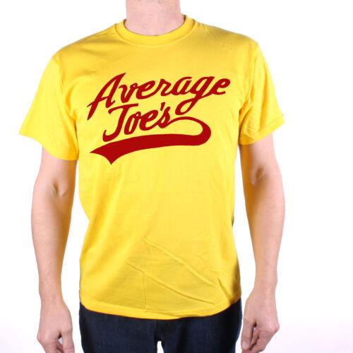 Comme vu dans Dodgeball T SHIRT-moyenne JOES logo gratuit uk affranchissement Comédie Culte tee