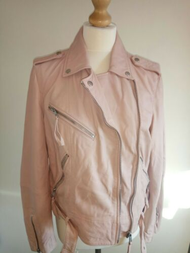 100 14 Rrp Taille Leather 180 Jacket Next FOxdZqq
