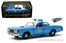 Plymouth Fury 1975 arkansas State Police Smokey and the Bandit coche modelo 1:18