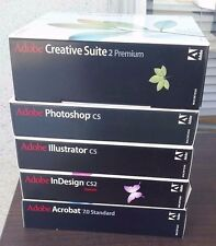 Adobe Creative Suite 2 Premium Mac With 4 other Adobe Programs!!!