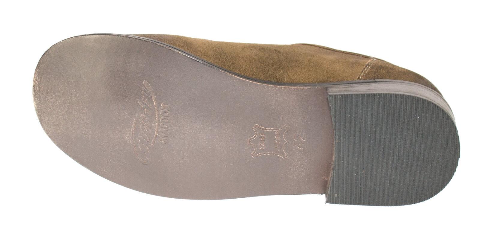 Trachtenschuhe Haferlschuhe 100% Leder Schuhe braun gespeckt antik gespeckt braun MADDOX 51379e