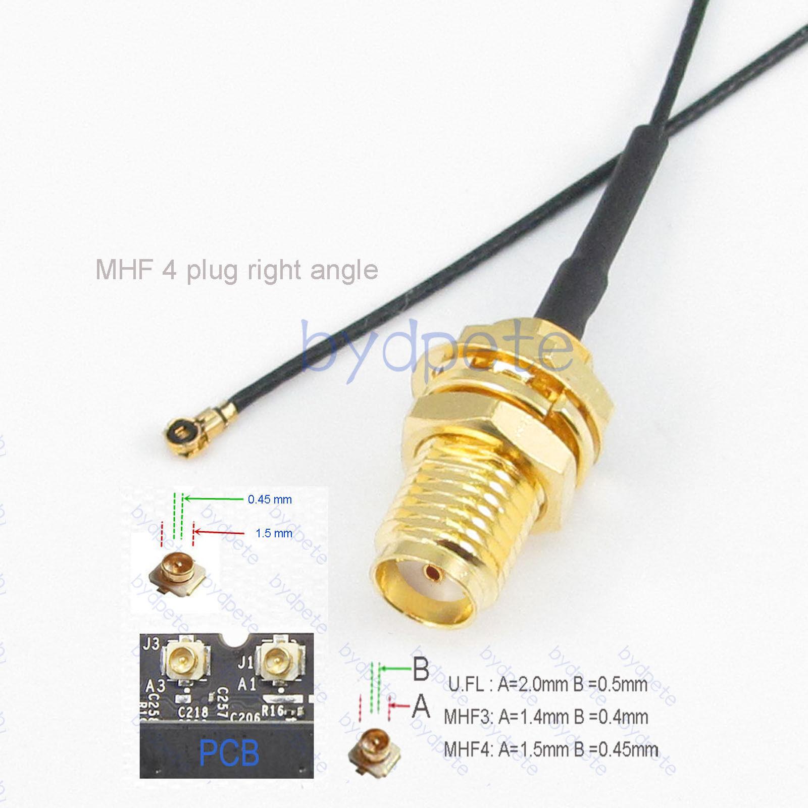 4 Plug 5 PCS IPEX 4 receptacles for IPEX