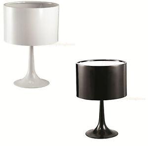 SAARINEN-TABLE-LAMP-TULIP-MID-CENTURY-MODERN-BLACK-OR-WHITE-ALUMINUM-22-034-H