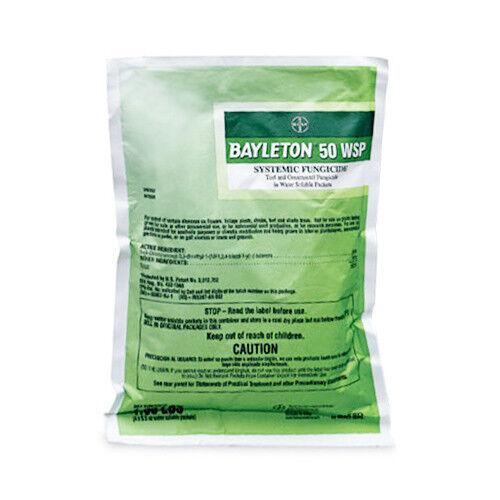 Bayleton 50 WSP Fungicide 4 x 5 5 Oz