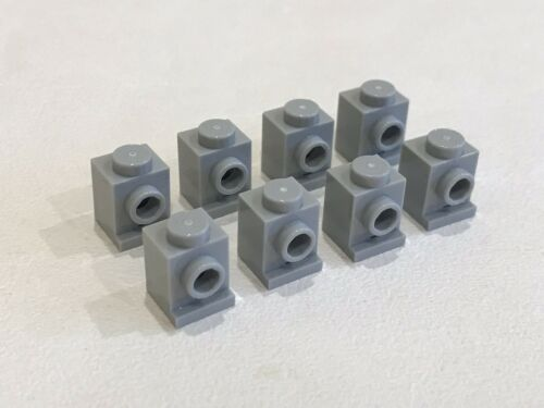 BB2F P//N 4070 NEW 8x LEGO 1 x 1 LIGHT BLUISH GREY MODIFIED HEADLIGHT BRICK