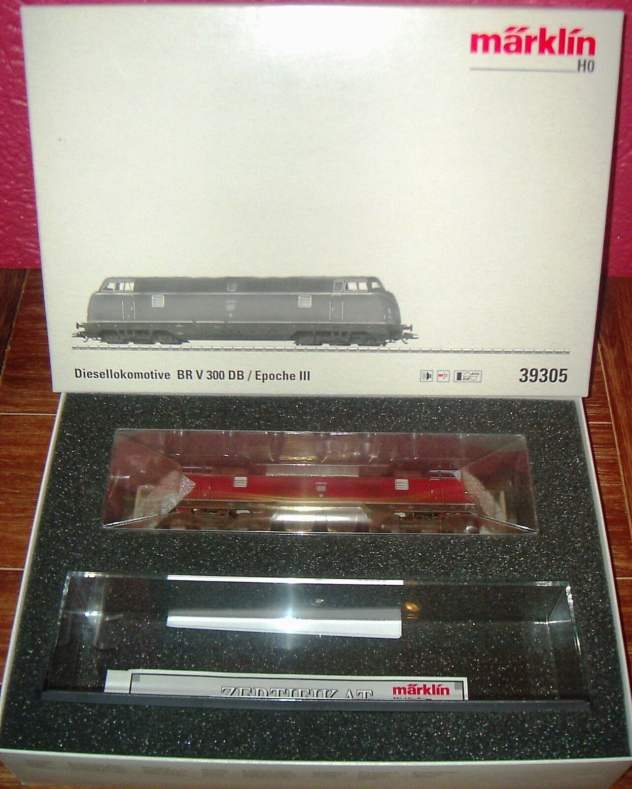 h0 39305 Diesel-Lok v300 della DB  Store Lok , mattoncini in scatola originale
