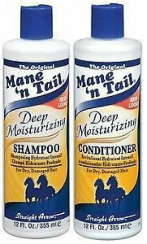 THE ORIGINAL MANE 'n TAIL DEEP MOISTURISING SHAMPOO AND CONDITIONER**DEAL 12oz**