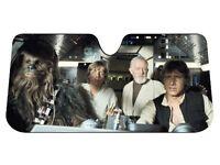 Star Wars Car Windshield Accordion Sun Shade Protector Plasticolor