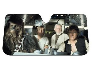 Star-Wars-Millennium-Falcon-Car-Windshield-Accordion-Sun-Shade-Protector