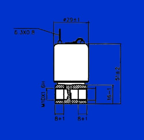 Magnetventil Ventil f Kaltstartvorrichtung Vorglühen Trecker Schlepper v Deutz