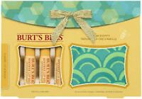 Burt's Bees- 4 Balms + Change Purse- Classic Or Assorted Mix