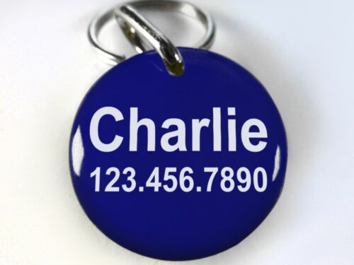 Blind Dog ID TAG Pet tag cat tag customized with your pet info