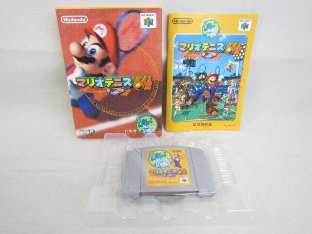 MARIO TENNIS 64 Nintendo 64 Import Japan Video Game n6