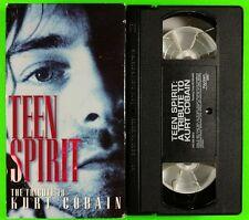Teen Spirit: The Tribute to Kurt Cobain VHS Nirvana Grunge Alternative Rock