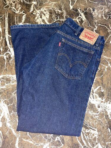 Levis 517 Mens Bootcut Jeans Dark Wash Size 36X30