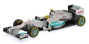 1:18 Mercedes W03 Rosberg 2012 1/18 • Minichamps 110120008