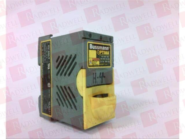 Cooper Bussmann OPM-CC Optima Fuse Holder 30 Amp 600 V OPMCC