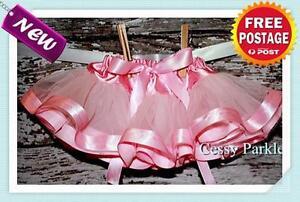 Girls-Ballet-3-Layers-Tutu-Dancing-Skirt-Fairy-Princess-Dress-Up-Party-Costume
