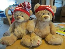 Lot of 2 Aeropostale Gund Bears P.S NYC 2013 Holiday Stuffed Animal