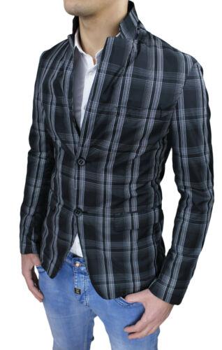 Homme Cadres L Moulant Noir Tag Slim Xxl Fit S Casual Blazer Xl Veste Gris M 5aScn1Sq