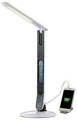Lampada Da Tavolo Accensione Touch E Porta Usb Per La Ricarica Mediacom Led Desk Ebay