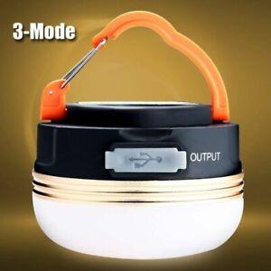 Wasserdicht-LED-USB-wiederaufladbare-Camping-Outdoor-Licht-Laterne-Zelt-UVA