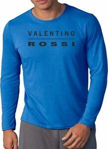 Valentino Rossi T Shirt 2018 Long Sleeve Men S Retro Tee Top