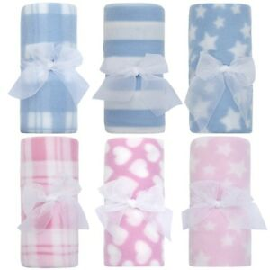Newborn-Baby-Soft-Fleece-Blanket-Gift-Boy-Girls-Cot-Crib-Blanket-Comforter-New