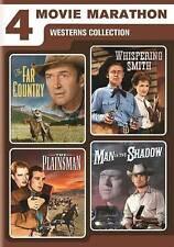 4-Movie Marathon: Westerns Collection DVD, 2016, 2-Disc Set
