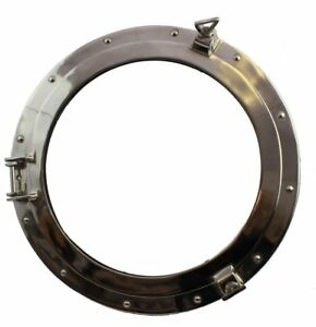 Image Is Loading 21 Chrome Finish Porthole Window Nautical Maritime Boat