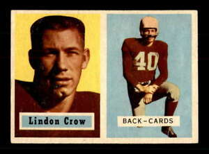 1957-Topps-91-Lindon-Crow-DP-EXMT-EXMT-X1558612