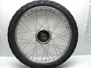 Honda-XL125-XL-125-5083-Chrome-Front-Wheel-amp-Tire