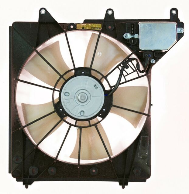 Engine Cooling Fan Assembly Fits 2005-2010 Acura RL APDI