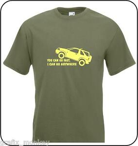 Freelander-039-You-Can-Go-Fast-039-Adult-T-Shirt