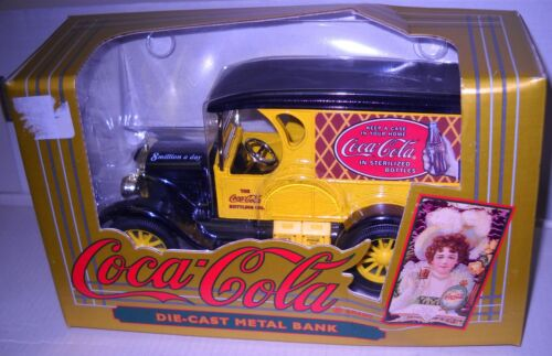 #4849 NRFB Ertl Collectibles Coca Cola Die Cast Metal Bank