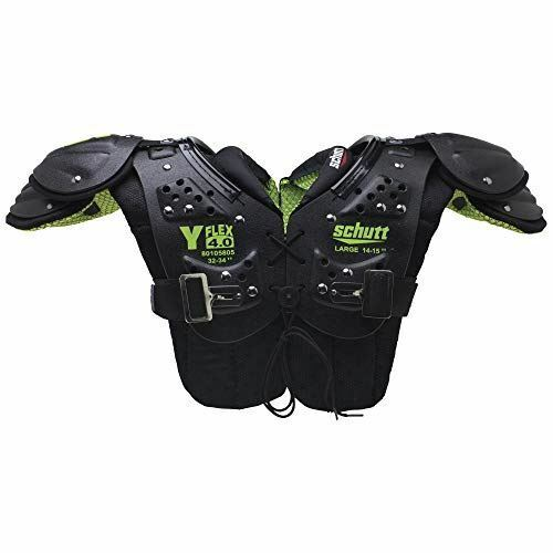 Schutt Sports Y-Flex 4.0 All-Purpose Youth Football Shoulder Pads Small