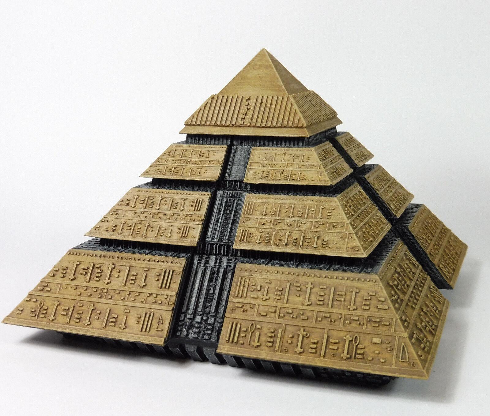 estrellagate Ra's Pyramid modellololo film di resina kit 1995 (Sold Unpaid)