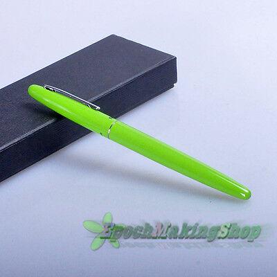 free shipping jinhao 321 green fountain pen F nib new