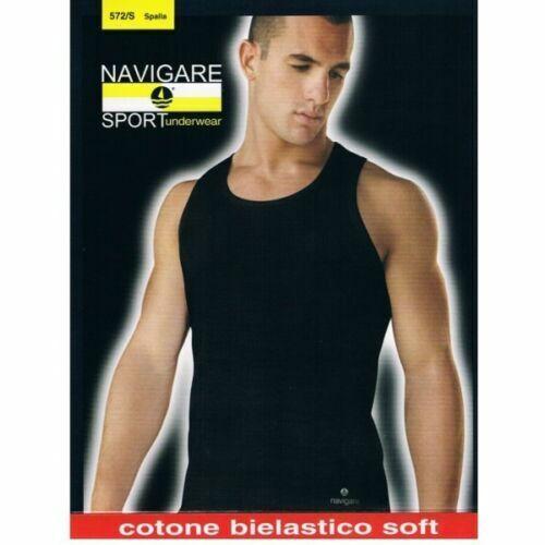 111 Plus CALIBRATE Taglia 8-9-10 Bianco E COLORATO Navigare 3 T-Shirt Uomo Caldo Cotone Mezza Manica Girocollo Art