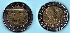 REPUBBLICA DI SAN MARINO - MONETA 500 LIRE  HEGEI 1996